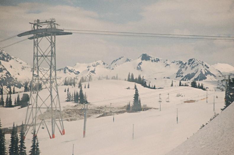 gondolas in summer