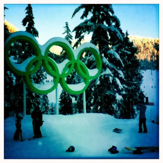 olympic rings hipstamatic
