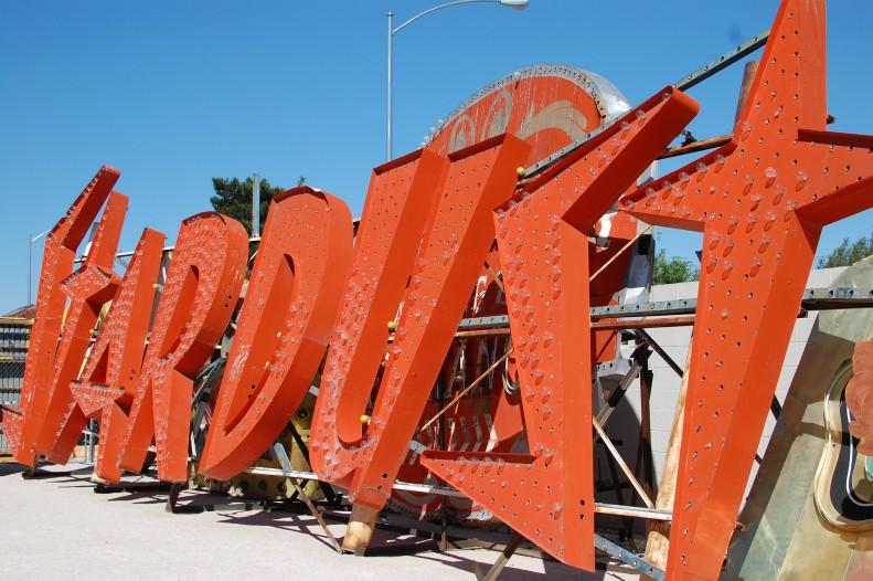Las Vegas Neon Museum. stardust