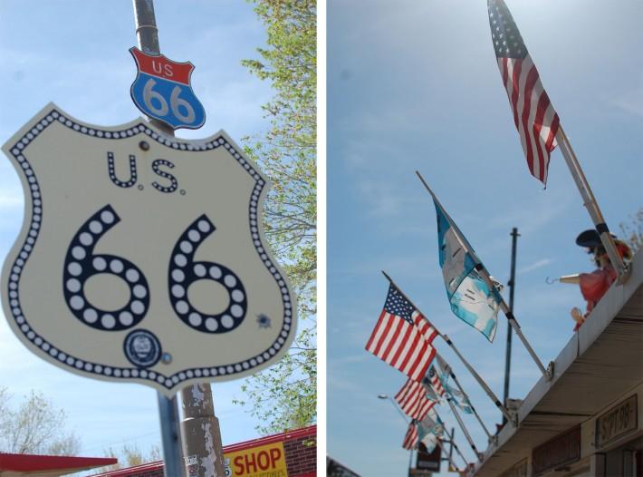 Seligman, Route 66.