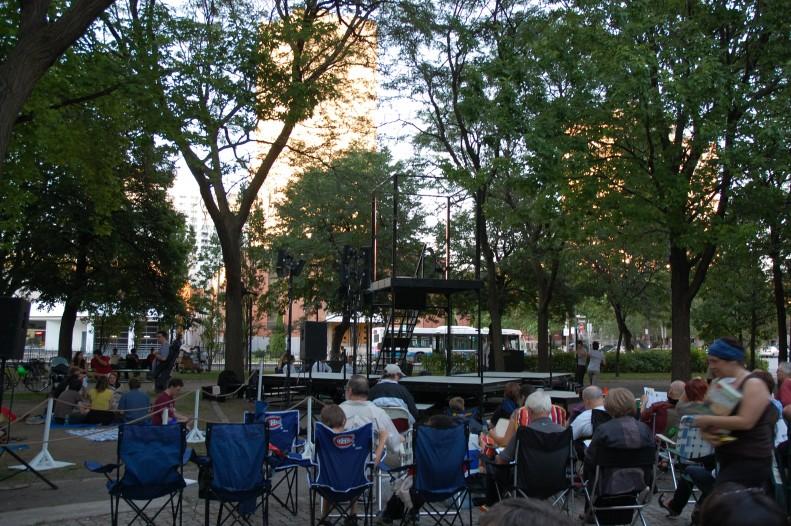 Shakespeare in the park, Montreal