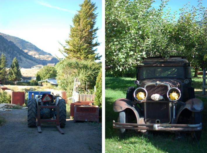 machinery in the Okanagan