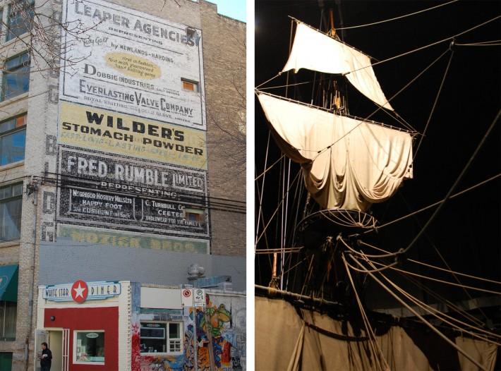 Winnipeg on Wide angle wanderings